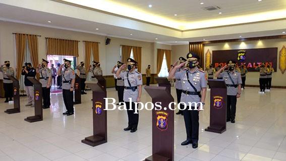 Kapolda Pimpin Sertijab Empat Pejabat Utama Polda Kaltim