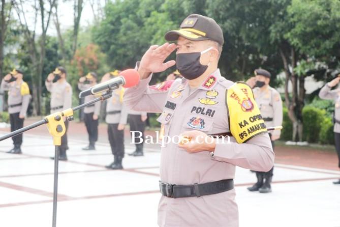 Kapolda Pimpin Upacara Ziarah di TMP Dharma Agung